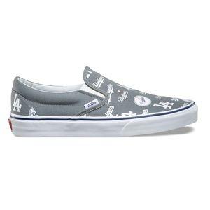3944ffe012 Vans Shoes - Vans Classic Slip On LA Dodgers MLB Women s RARE